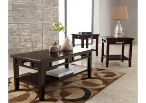 Logan Occasional Table Set (Cocktail & 2 Ends)