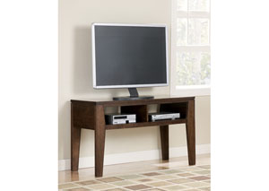 Deagan Dark Brown Finish TV Stand