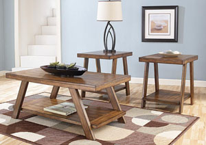 Bradley 3 Piece Occasional Table Set