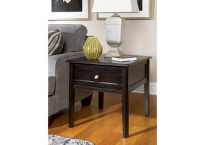 Henning Rectangular End Table