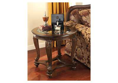 Norcastle Round End Table,Signature Design By Ashley