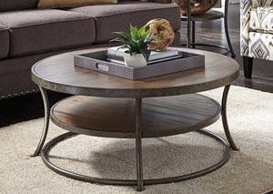 Nartina Round Cocktail Table