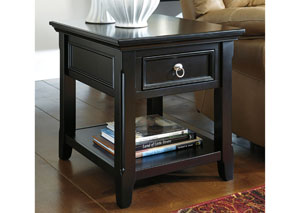 Greensburg Rectangular End Table