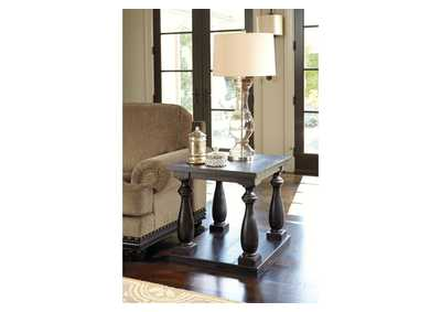 Mallacar Rectangular End Table,Signature Design by Ashley