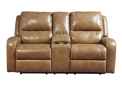 roogan blondie double power reclining loveseat wconsole