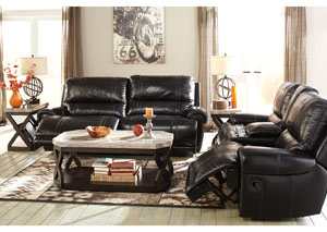 Paron Antique Reclining Sofa & Loveseat