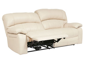 Damacio Cream 2 Seat Reclining Sofa,Signature Design by Ashley
