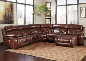 Elemen Harness Reclining Power Sectional,Signature Design by Ashley