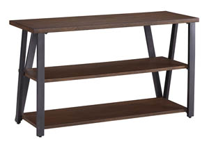 Banilee Chestnut TV Stand,Signature Design By Ashley