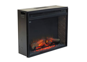 Large Infrared LED Fireplace Insert