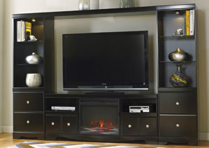 Shay Entertainment Center w/LED Fireplace