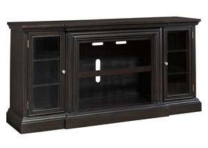 Carlyle Almost Black Extra Large TV Stand