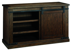 Budmore Rustic Brown Medium TV Stand,Signature Design By Ashley