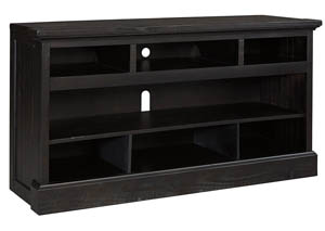 Sharlowe Charcoal Large TV Stand w/Fireplace