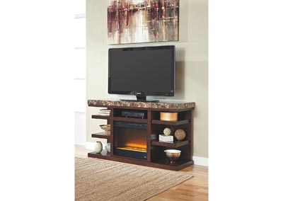 Kraleene Large TV Stand w/ LED Fireplace Insert,Signature Design by Ashley