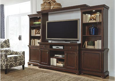 Porter Large Entertainment Center,Millennium