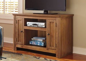 Macibery Grayish Brown TV Stand,Signature Design by Ashley