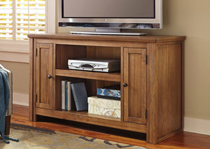 Macibery Grayish Brown Medium TV Stand