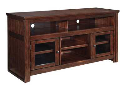 Harpan Reddish Brown Large TV Stand,Signature Design by Ashley