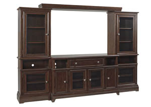 Lavidor Chocolate Entertainment Center