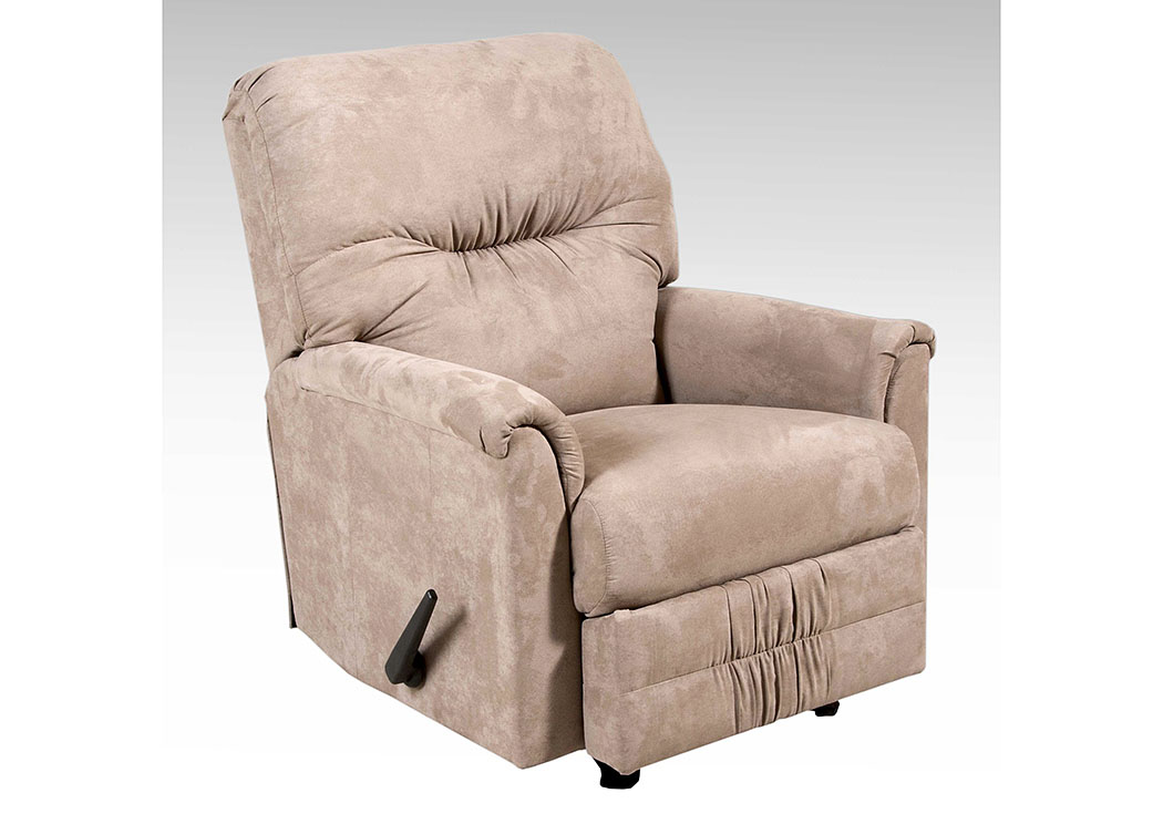 Sienna Mocha Rocker Recliner,Atlantic Bedding & Furniture