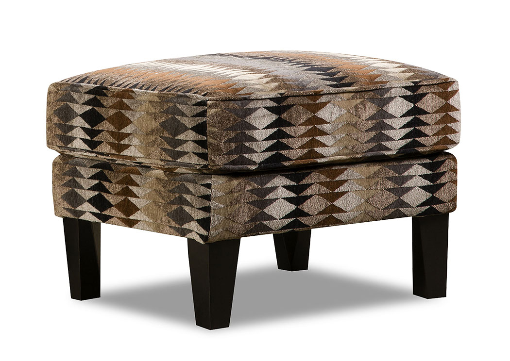 Timbuktu Saddle Accent Ottoman,Atlantic Bedding & Furniture
