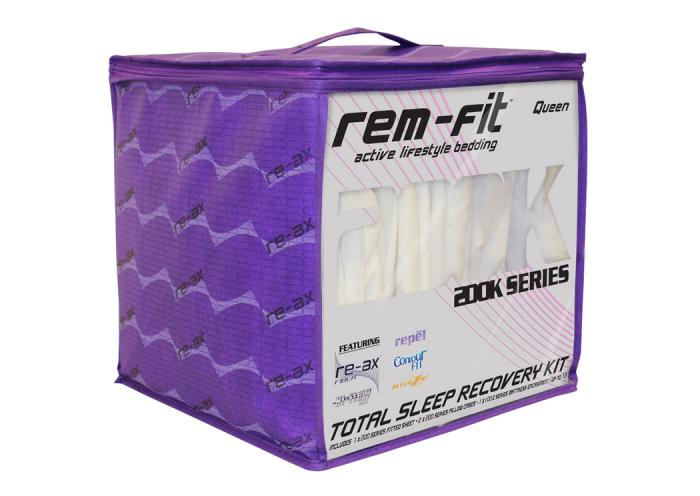 REM Fit 200K Queen Kit,Atlantic Bedding & Furniture
