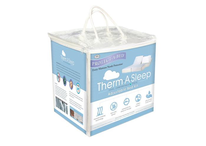 Therm-A-Sleep Adjustable Bed Queen Kit,Atlantic Bedding & Furniture