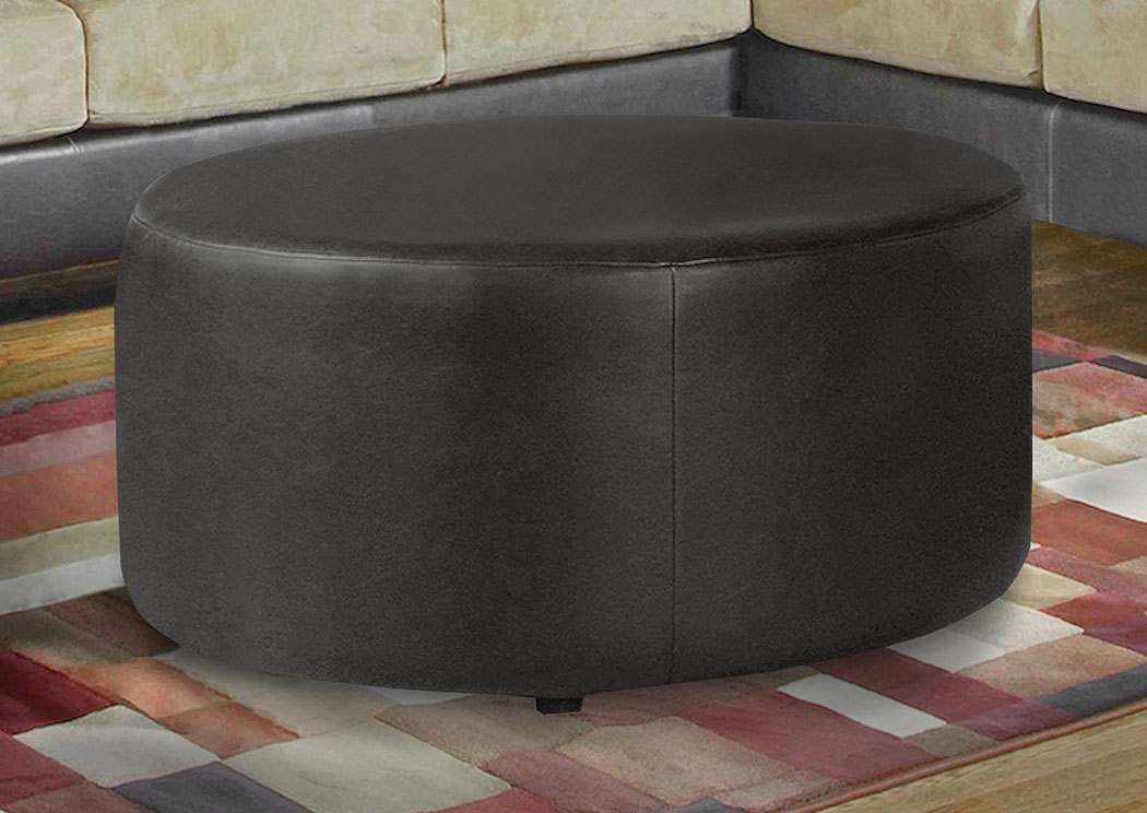 San Marino Chocolate Ottoman,Atlantic Bedding & Furniture