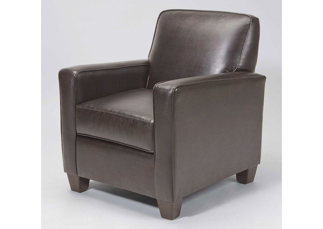 Atlantic Bedding And Furniture Charleston North Charleston Marshall Walnut Accent Chair