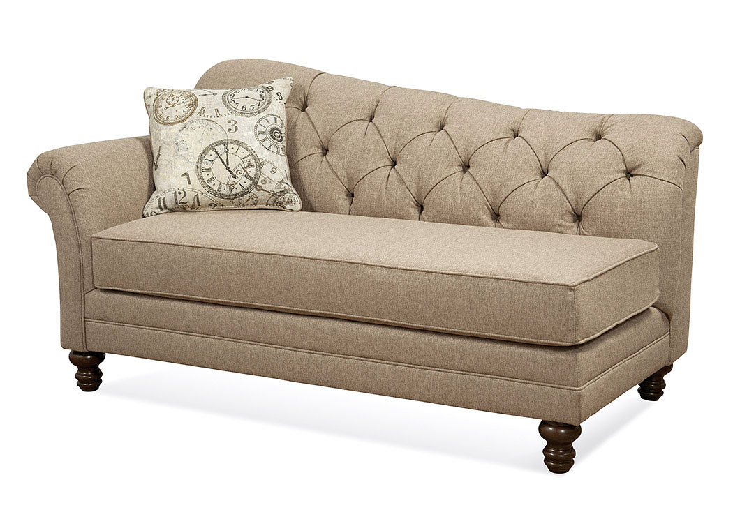 Abington Safari Timeless Patina Chaise,Serta Hughes