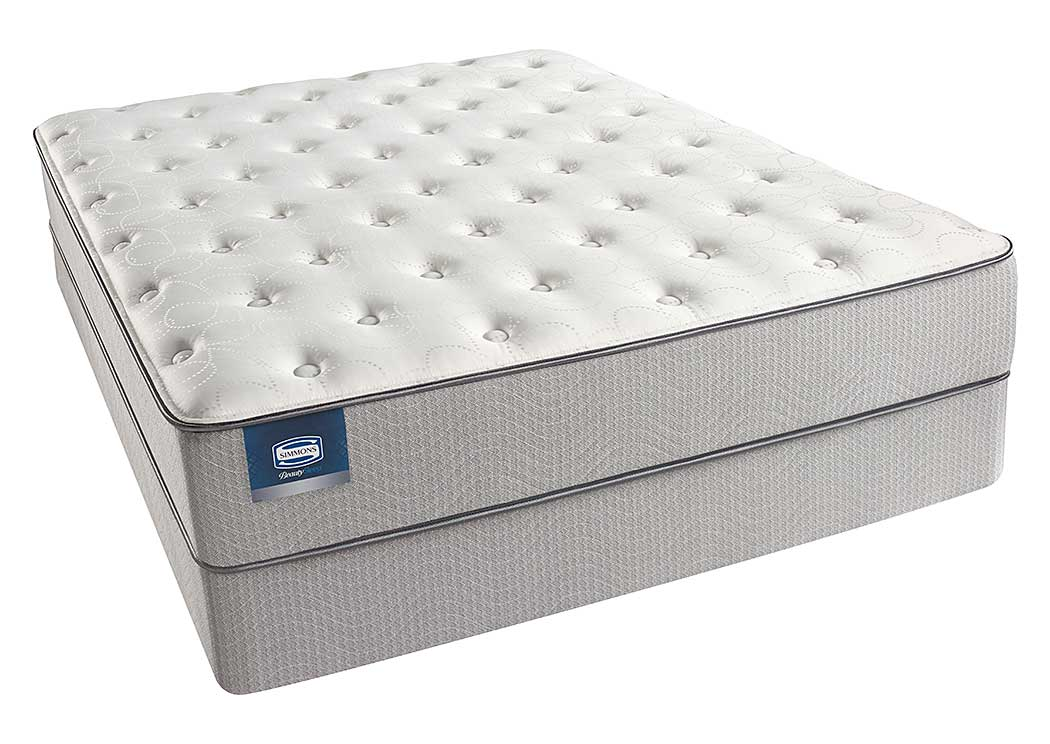 Beautysleep Andrea Plush Twin Mattress,Tonoco