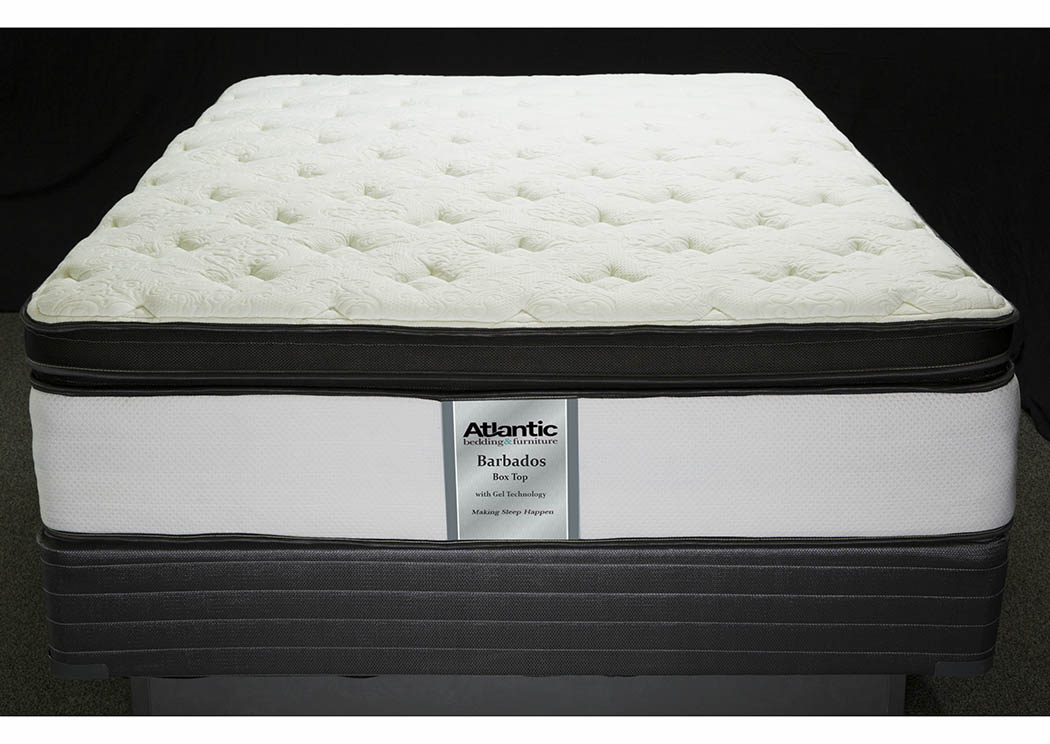 Barbados King Foam Encased/Box Top Mattress,Atlantic Bedding