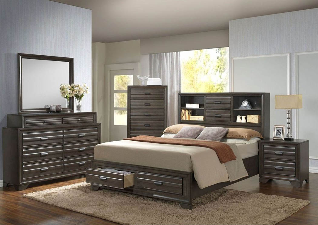 Bowie King Bed ,Atlantic Bedding & Furniture