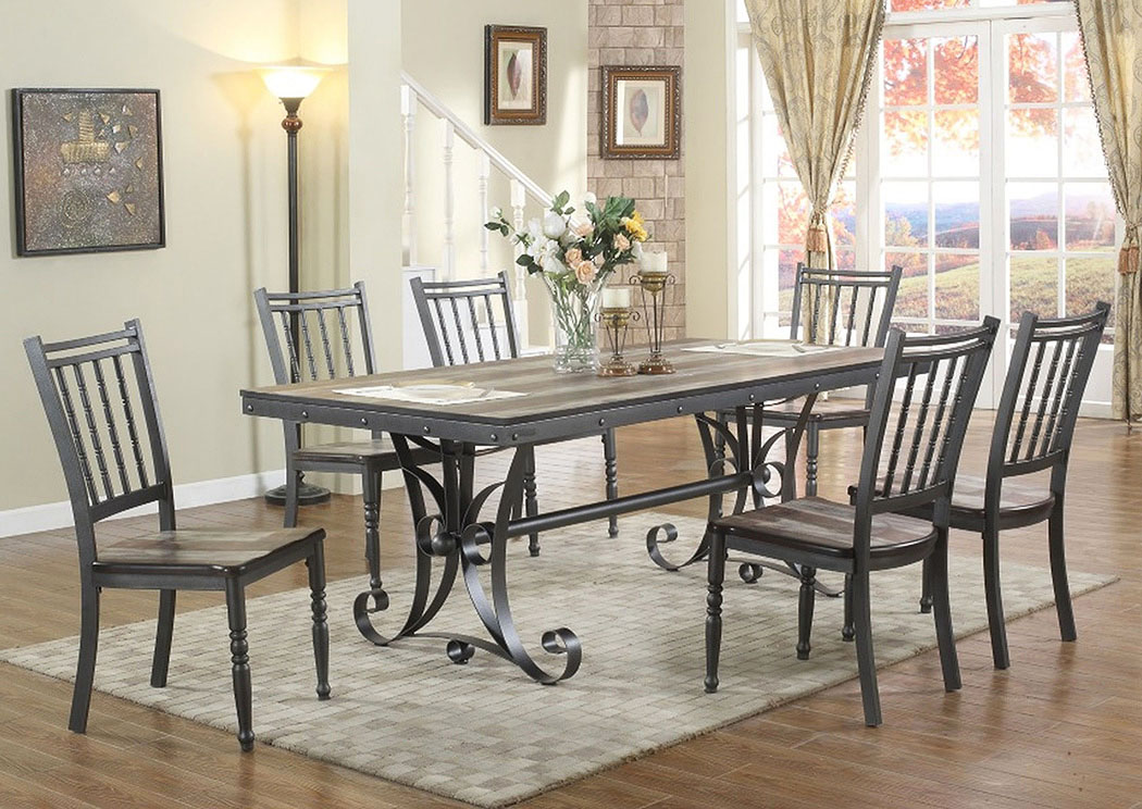 Savannah Dining Table,Atlantic Bedding & Furniture