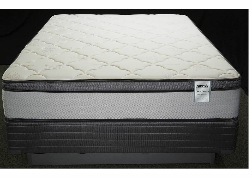 Grand Cayman Twin Foam Encased/Aloe Cover Mattress,Atlantic Bedding