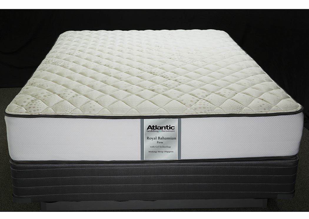 Royal Bahamian Queen Quant Ind Coil/Quilt Gel Mattress,Atlantic Bedding