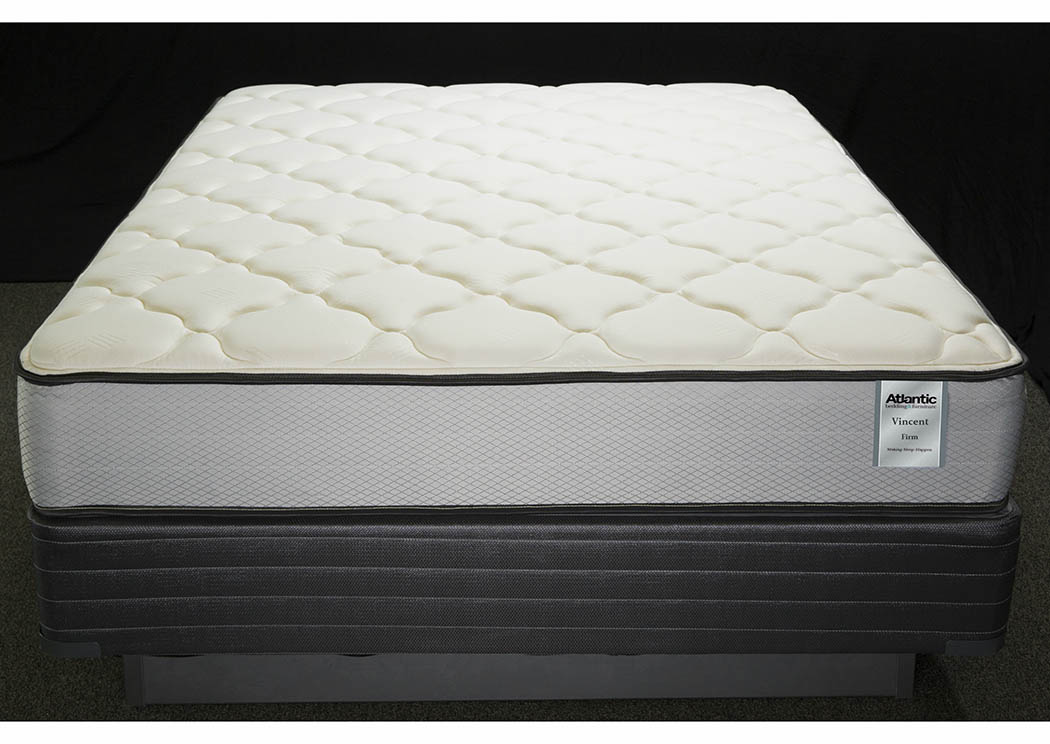 St. Vincent X-Firm Twin Foam Encased/Aloe Cover Mattress,Atlantic Bedding
