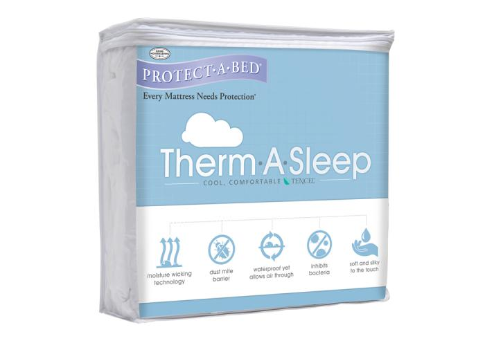 Therm-A-Sleep California King Mattress Protector,Atlantic Bedding & Furniture