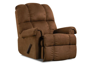 100 Chocolate Recliner