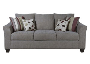 Flyer Metal Euphoria Roxanne Rio Stationary Sofa