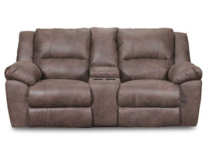 Phoenix Mocha Double Motion Loveseat