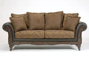 San Marino Chocolate Sofa
