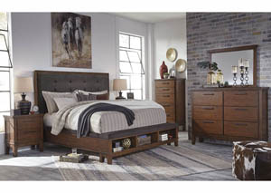 Ralene Upholstered Queen Bed