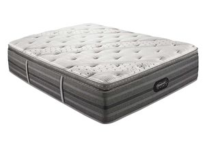 Beautyrest Black Kate Pillow Top Plush Queen Mattress
