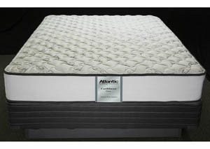 Caribbean Firm Queen Foam Encased/Quilt. Gel Mattress
