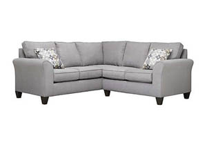 Addison Grey 2-Piece Sectional