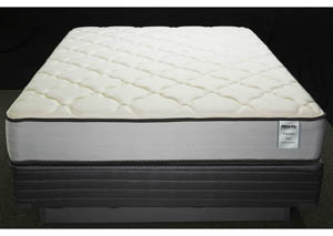 St. Vincent Firm Queen Foam Encased/Aloe Cover Mattress