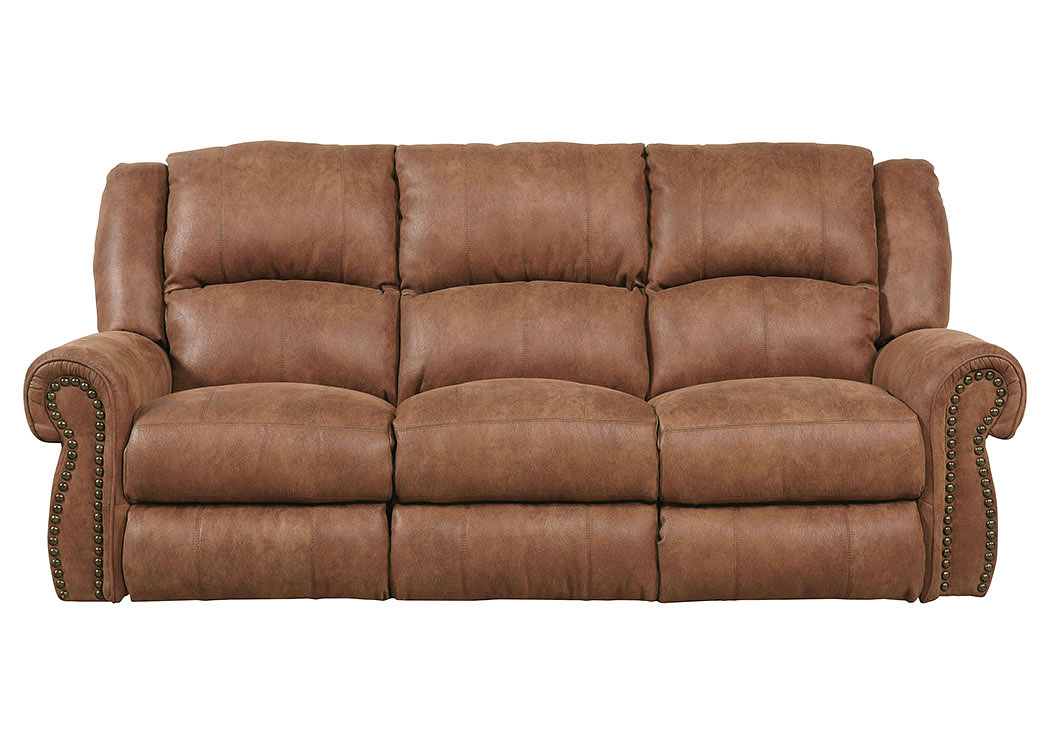 Westin Nutmeg Power Reclining Sofa,Catnapper