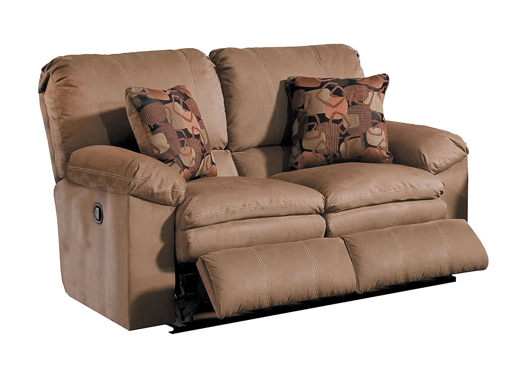 Impulse Cafe/Espresso Reclining Loveseat,ABF Catnapper